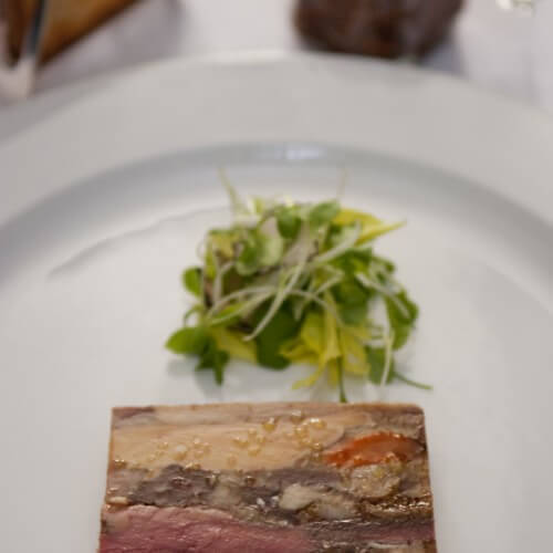 Country style Game Terrine