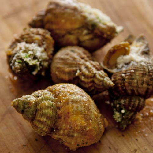 Garlic Salted Sea Snails